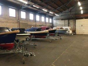 Overdekte stalling voor uw boot in de stad Groningen